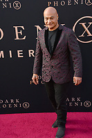 "LOS ANGELES, USA. June 05, 2019: Andrew Stehlin at the premiere for ""X-Men: Dark Phoenix"" at Paramount Theatre.<br /> Picture: Paul Smith/Featureflash"