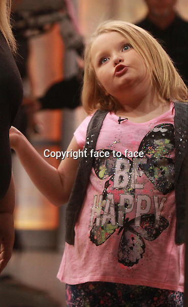 Feb.05, 2014: Honey Boo Boo at Good Morning America in New York City.Credit: RW/MediaPunch Inc.<br />