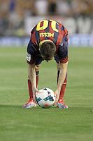 FC Barcelona's Leo Messi during La Liga match.September 1,2013. (ALTERPHOTOS/Acero) <br /> Football Calcio 2013/2014<br /> La Liga Spagna<br /> Foto Alterphotos / Insidefoto <br /> ITALY ONLY