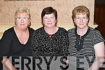 ENJOYING: Enjoying the North Kerry Pioneer Social at Kirbys Lanterns Hotel, Tarbert, on Friday night were f