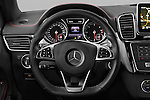 Car pictures of steering wheel view of a 2016 Mercedes Benz GLE-Coupe - 5 Door Suv Steering Wheel