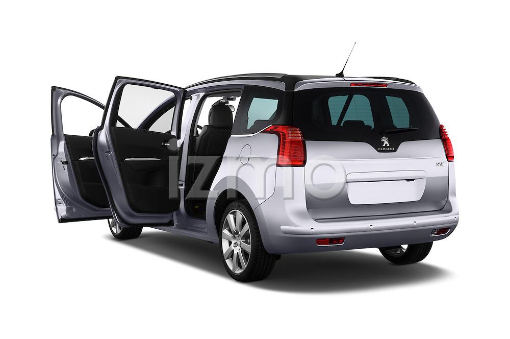 Rear three quarter door view of a 2014 Peugeot 5008 Allure 5 Door Mini Mpv 2WD.