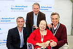 LOS ANGELES - MAY 15: Liev Schreiber, John Holly, Patricia Morison, John Bowab at The Actors Fund's Edwin Forrest Day celebration at a private residence on May 15, 2016 in Sherman Oaks, California