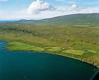 Ketilsstaðir séð til vesturs, Dalabyggð áður Hvammshreppur / Ketilsstadir viewing west, Dalabyggd former Hvammshreppur