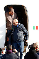 Rome January 14th 2019. Cesare Battistii left-wing Italian militant who was convicted of murder three decades ago, arrived in Rome to serve a life prison sentence, after his life as a celebrity fugitive came to an abrupt end with his arrest in Bolivia by a team of Interpol agents.<br /> Foto Samantha Zucchi Insidefoto