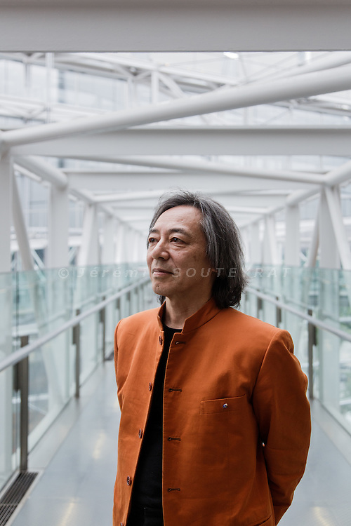 "Tokyo, May 9 2014 - Portrait of Japanese music producer Masahide KAJIMOTO at the International Forum, main venue for the ""Folle journee"" in Japan"