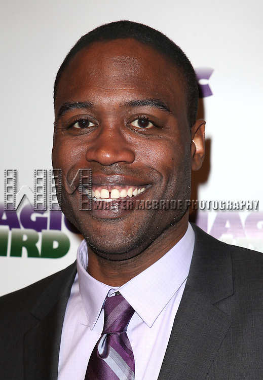 "Kevin Daniels.attending the Broadway Opening Night Performance After Party for ""Magic / Bird"" at the Edison Ballroom in New York City on April 11, 2012"