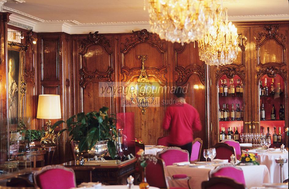 "France/06/Alpes-Maritimes/Nice: Hotel Negresco - La salle du restaurant ""Le Chantecler"""