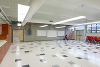 Central High School Bridgeport CT Expansion & Renovate as New. State of CT Project # 015-0174. One of 90 Photographs of Progress Submission 34, 6 December 2017