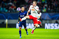 10th March 2020, Red Bull Arena, Leipzig, Germany; EUFA Champions League, RB Leipzig v Tottenham Hotspur; Lucas Moura of Tottenham