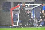 Hoffenheims Trainer Julian Nagelsmann gibt Anweisungen an der Seitenlinie beim Spiel  in der Champions League, Olympique Lyon - TSG 1899 Hoffenheim.<br /> <br /> Foto &copy; PIX-Sportfotos *** Foto ist honorarpflichtig! *** Auf Anfrage in hoeherer Qualitaet/Aufloesung. Belegexemplar erbeten. Veroeffentlichung ausschliesslich fuer journalistisch-publizistische Zwecke. For editorial use only. DFL regulations prohibit any use of photographs as image sequences and/or quasi-video.