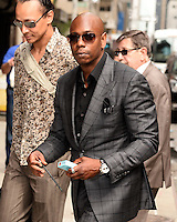 NEW YORK, NY - JUNE 10, 2014:Dave Chapelle visits the Late Show With David Letterman on June 10, 2014 © HP/Starlitepics