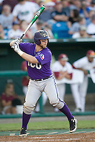 TCU's Holaday, Bryan 2550.jpg against Florida State at the College World Series on June 23rd, 2010 at Rosenblatt Stadium in Omaha, Nebraska.  (Photo by Andrew Woolley / Four Seam Images)