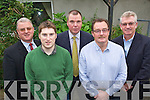 Michael Holland, Paul Keane, Nigel Crowe, Colin Scott and Kieran Ruttledge pictured at Brandon Hotel, Tralee on Tuesday at a Tralee Chamber of Commerce Talk by Paddy Power on Chamber Talk on Oil and Gas Industry.
