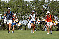 SAN ANTONIO, TX - SEPTEMBER 6, 2010: The University of Texas at San Antonio Roadrunners Women's Golf Fall Qualifier at the TPC San Antonio AT&T Oaks Course. (Photo by Jeff Huehn)