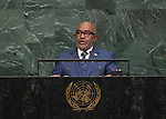 72 General Debate – 20 September <br /> <br /> His Excellency Azali Assoumani, President of the Union of the Comoros