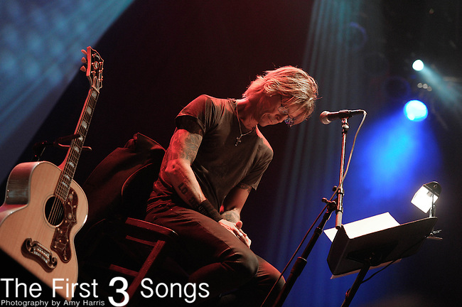 "Duff McKagan of Guns & Roses reads his memoir ""It's So Easy"" at the Cleveland House Of Blues on April 13, 2012."