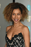 Sophie Okonedo<br /> The EE British Academy Film Awards 2019 held at The Royal Albert Hall, London, England, UK on February 10, 2019.<br /> CAP/PL<br /> ©Phil Loftus/Capital Pictures