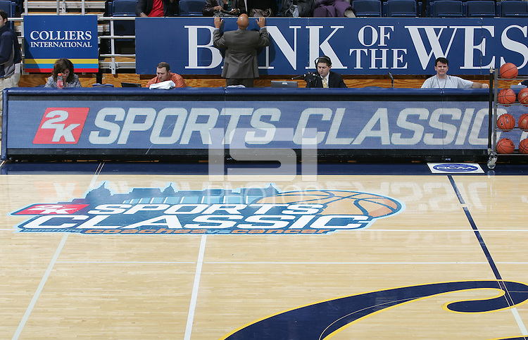 2K Sports Classic. The California Golden Bears defeated the Detroit Titans  95-61 during the regional round of the 2K Sports Classic benefiting coaches vs cancer at Haas Pavilion in Berkeley, California on November 11th, 2009.