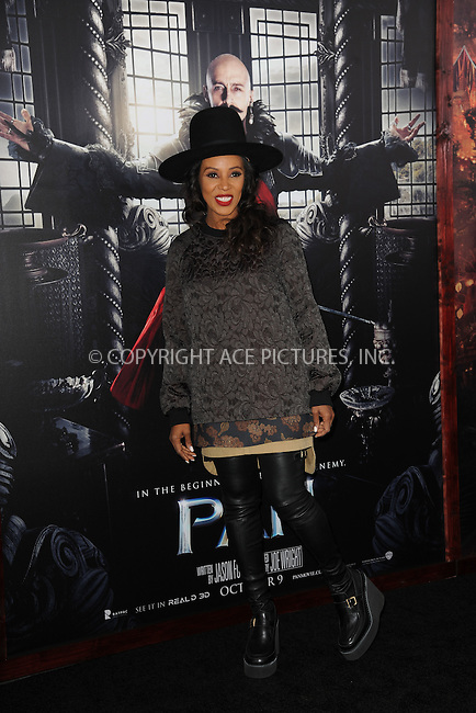 WWW.ACEPIXS.COM<br /> October 4, 2015 New York City<br /> <br /> June Ambrose attending the 'Pan' New York Premiere arrivals at Ziegfeld Theater on October 4, 2015 in New York City.<br /> <br /> Credit: Kristin Callahan/ACE Pictures<br /> <br /> Tel: (646) 769 0430<br /> e-mail: info@acepixs.com<br /> web: http://www.acepixs.com