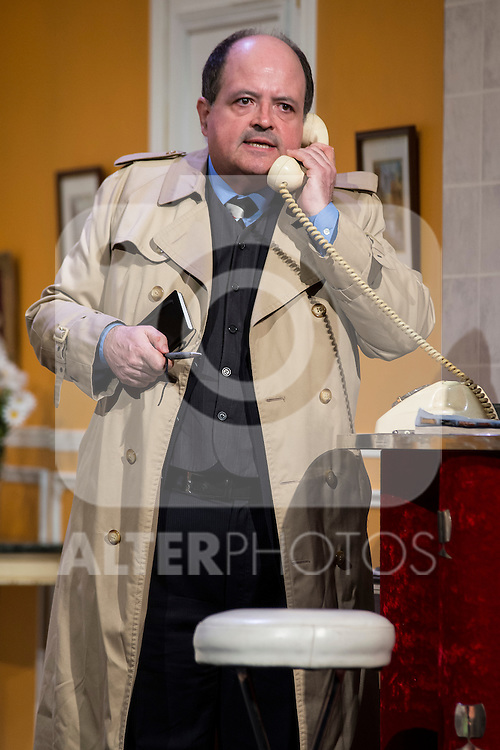 Antonio M. at &quot;Usted puede ser un asesino&quot; Theater play in Mu&ntilde;oz Seca Theater, Madrid, Spain, September 07, 2015. <br /> (ALTERPHOTOS/BorjaB.Hojas)