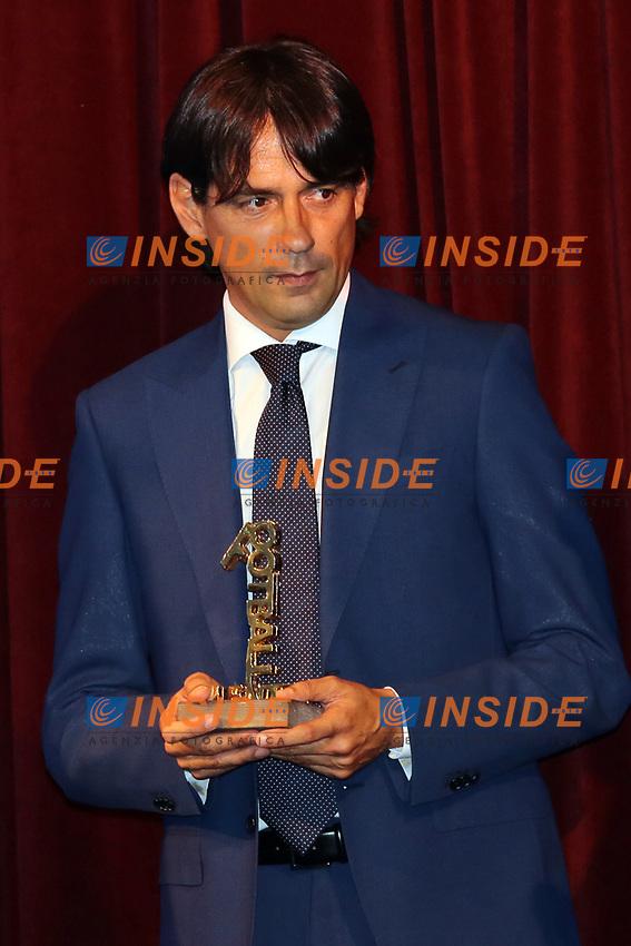 Simone Inzaghi<br /> Napoli 06-06-2017  Napoli Hotel Continental<br /> Premio Football Leader 2017 - I migliori votano i migliori<br /> Football Leader 2017 Award - The best vote the best<br /> Foto Cesare Purini / Insidefoto