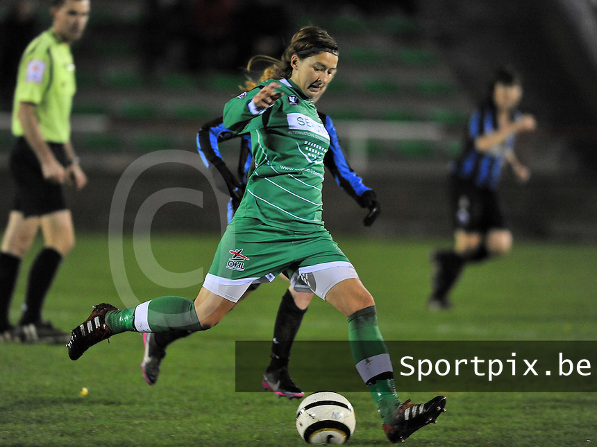 Club Brugge Vrouwen - OHL Dames : Annelies Menten<br /> foto David Catry / nikonpro.be