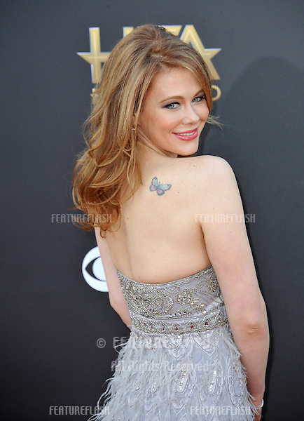 Maitland Ward at the 2014 Hollywood Film Awards at the Hollywood Palladium.<br /> November 14, 2014  Los Angeles, CA<br /> Picture: Paul Smith / Featureflash