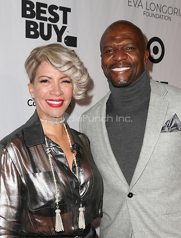 LOS ANGELES, CA - NOVEMBER 8: Rebecca King-Crews, Terry Crews, at the Eva Longoria Foundation Dinner Gala honoring Zoe Saldana and Gina Rodriguez at The Four Seasons Beverly Hills in Los Angeles, California on November 8, 2018. Credit: Faye Sadou/MediaPunch