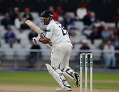 7th September 2017, Emirates Old Trafford, Manchester, England; Specsavers County Championship, Division One; Lancashire versus Essex; Ravi Bopara of Essex at the crease today