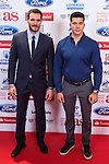 "Saul Cravioto and Cristian Toro during the ""As sports Awards"" at Palace Hotel in Madrid, Spain. december 19, 2016. (ALTERPHOTOS/Rodrigo Jimenez)"