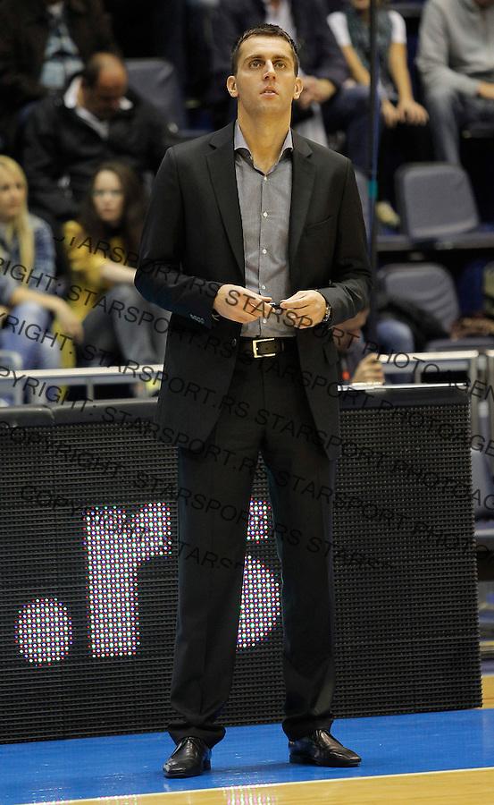 Kosarka ABA League season 2012-2013.Partizan Vs. Siroki.Assistent coach Milos Vujanic.Beograd, 14.10.2012..foto: Srdjan Stevanovic/Starsportphoto ©