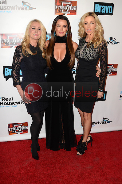 "Kim Richards, Kyle Richards, Camille Grammer<br /> at ""The Real Housewives of Beverly Hills"" Season 7 Premiere Party, Sofitel Hotel, Beverly Hills, CA 12-02-16<br /> David Edwards/DailyCeleb.com 818-249-4998"