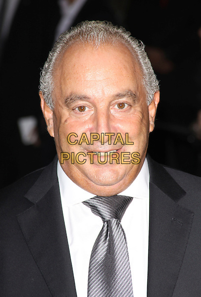 SIR PHILIP GREEN.Attending the Burberry Closing Party for London Fashion Week held at Chelsea College for Art & Design, London, England, UK, .September 22nd 2009..portrait headshot grey gray tie white suit shirt phillip.CAP/AH.©Adam Houghton/Capital Pictures.