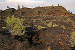 Craters of the Moon National Monument and Preserve, rocky lava