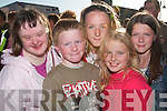 .21. PICTURES 5705-5712..22. At the barbecue in Listowel on Sunday evening were in front, Shane Heffernan, Rachel Collins, back from left, Sinead Joy, Stephanie Collins, Abbie Riordan all from Listowel...