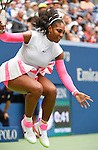 Serena Williams (USA) defeated Johanna Larsson (SWE) 6-2, 6-1