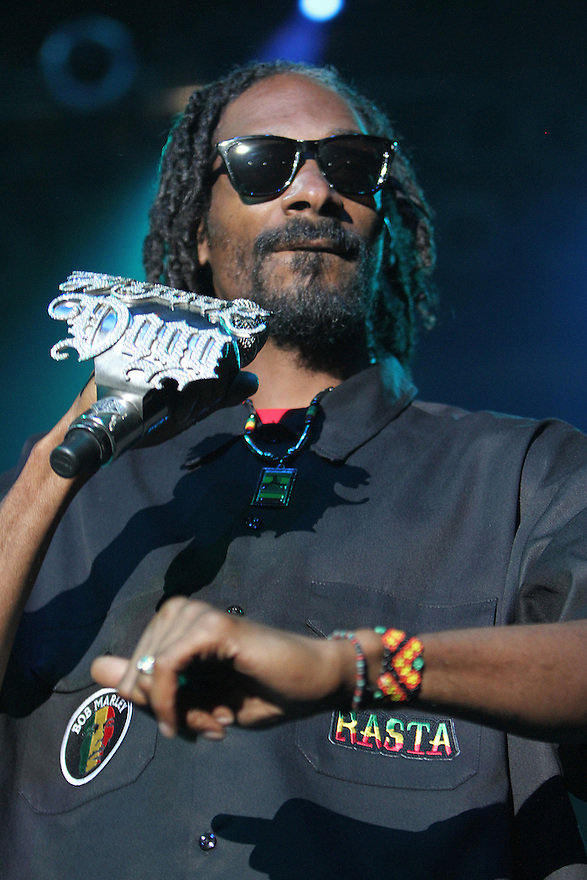American rapper Snoop Dogg (aka Snoop Lion) performs at the Paramount Theatre on Wednesday, Sept. 26, 2012 in Huntington, NY. (Photo By Donald Traill/Invision/AP)