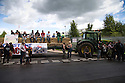 28/08/15<br /> <br /> Farmers for Real Action blockade Adams Foods, Leek.<br />  <br /> All Rights Reserved: F Stop Press Ltd. +44(0)1335 418629   www.fstoppress.com.