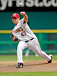 17 May 2007: Washington Nationals pitcher Matt Chico winds up on the mound on his way to recording his third win of the season during a game against the Atlanta Braves at RFK Stadium in Washington, DC. The Nationals defeated the Braves 4-3 to take the four-game series three games to one...Mandatory Photo Credit: Ed Wolfstein Photo