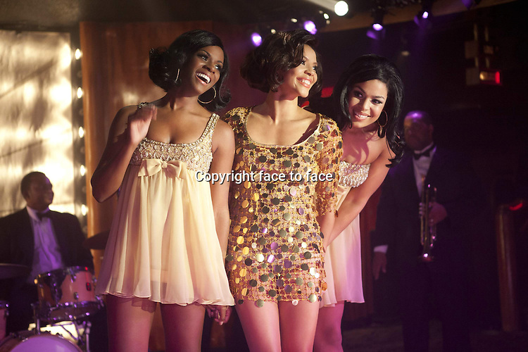 Delores (Tika Sumpter), Sister (Carmen Ejogo) and Sparkle (Jordin Sparks) in Sparkle...- Editorial Use Only -..Supplied by face to face
