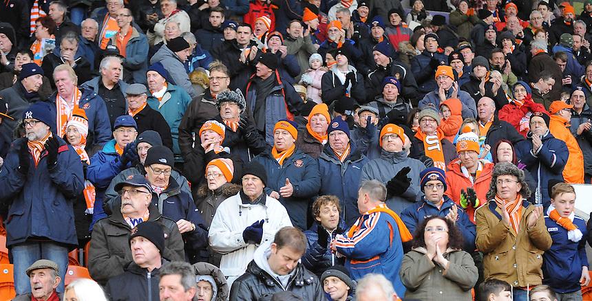 Photographer Kevin Barnes/CameraSport<br /> <br /> Football - The Football League Sky Bet Championship - Blackpool v Birmingham City - Saturday 6th December 2014 - Bloomfield Road - Blackpool<br /> <br /> &copy; CameraSport - 43 Linden Ave. Countesthorpe. Leicester. England. LE8 5PG - Tel: +44 (0) 116 277 4147 - admin@camerasport.com - www.camerasport.com