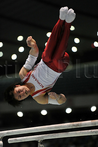 24.04.2011. Tokyo, Jpan.  Kohei Uchimura (JPN), APRIL 24th, 2011 - Artistic gymnastics : The 65th All Japan Gymnastics Championship Individual All-Around , Men's Individual 2nd day at 1st Yoyogi Gymnasium, Tokyo, Japan.