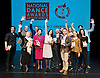 The Critics' Circle National Dance Awards 2016 <br /> at the Lilian Baylis Studio, Sadler's Wells, London, Great Britain <br /> <br /> 6th February 2017 <br /> <br /> WINNERS <br /> with their awards <br /> <br /> <br /> Photograph by Elliott Franks <br /> Image licensed to Elliott Franks Photography Services
