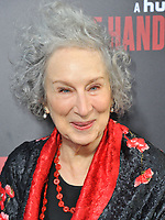 www.acepixs.com<br /> <br /> April 25 2017, LA<br /> <br /> Margaret Atwood arriving at the premiere of  'The Handmaid's Tale' at the ArcLight Cinemas Cinerama Dome on April 25, 2017 in Hollywood, California.<br /> <br /> By Line: Peter West/ACE Pictures<br /> <br /> <br /> ACE Pictures Inc<br /> Tel: 6467670430<br /> Email: info@acepixs.com<br /> www.acepixs.com