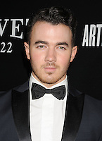 WWW.BLUESTAR-IMAGES.COM Musician Kevin Jonas arrives at the Hollywood Domino's 7th Annual Pre-Oscar Charity Gala at Sunset Tower on February 27, 2014 in West Hollywood, California.<br /> Photo: BlueStar Images/OIC jbm1005  +44 (0)208 445 8588