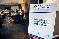 Students from throughout the Southeastern Conference participated in this week's 2017 SEC Academic Conference hosted by Mississippi State University. A session titled &quot;Student Career Speed Dating&quot; allowed students to network with professional contacts. Additional sessions and presenters tackled a breadth of water-related issues, including regional policy, partnerships, coastal resiliency, sea level rise, restoration projects, contamination, water treatment processes, public perception, agriculture and economics. The conference emphasized research collaboration in pursuit of solutions for some of the world&rsquo;s most complex scientific and social challenges.<br />