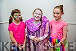 l-r  Ava Boyd, Kayleigh O'Brien and Rachel O'Mahony getting ready for the Scoil Eoin Balloonagh Christmas Concert on Monday