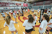 Springdale High Volleyball Practice 08/08/16