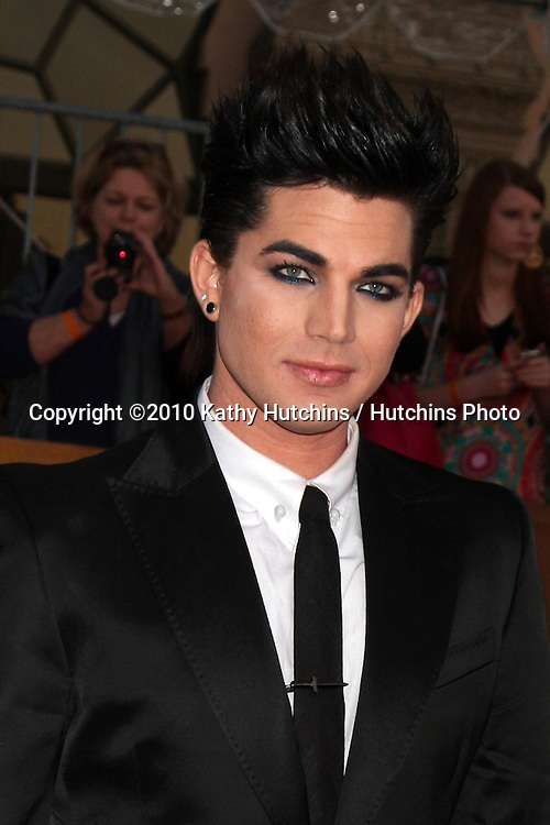 Adam Lambert.arrivng the 16th Annual Screen Actor's Awards.Shrine Auditorium.Los Angeles, CA.January 23, 2010.©2010 Kathy Hutchins / Hutchins Photo....